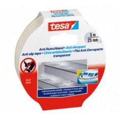Противоплъзгаща лента Tesa, 25 мм, 5 м - Самозалепваща
