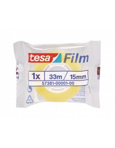 Канцеларска лента/ тиксо Tesa, 33 м, 15 мм