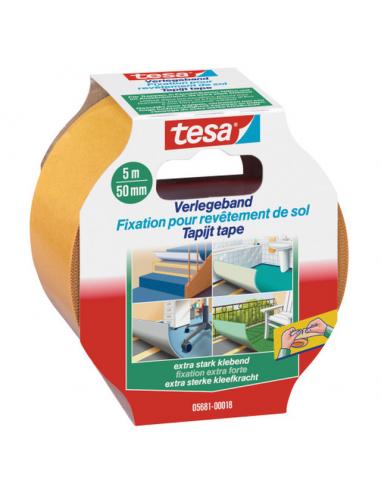 Двойнолепяща монтажна лента Tesa - 5 м, 50 мм