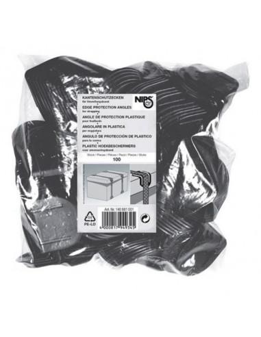 Протектор за пакетажни ленти на ъгъл - 40 х 40 мм, 100 броя