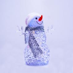 Коледен LED снежен човек...