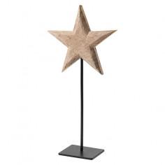Kоледна фигура звезда - 40 см