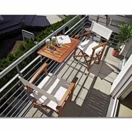 Сгъваема масичка за балкон 60 x 40 см