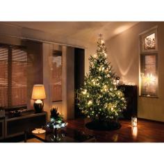 Коледни играчки за елха LED лампички  160 - 160 светодиода, 3,6 W, 24 V, топло-бяло, студено бяло, IP44, 24 м