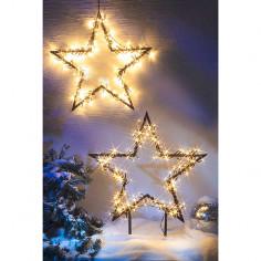 Коледна LED звезда - 73 см, 150 светодиода