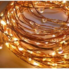 Коледна светлинна верига LED - 400 светодиода, 2 м, 20 стринга