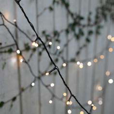 Коледна светлинна верига LED - 400 светодиода, 7,4 м