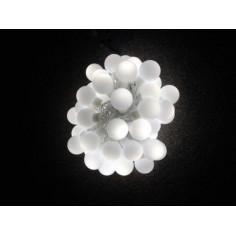 Коледни LED топки - 50 светодиода, 5 м