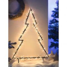 Коледна LED елха - 100 см,...