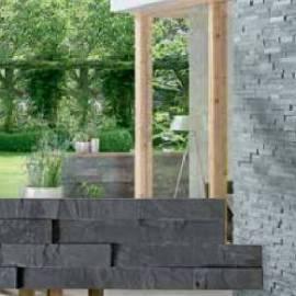 Стенна облицовка Nero 10 x 40 см