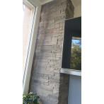 Декоративен камък - снимки от клиент - Sierra Gray - кашон (плочи) 1,05 кв.м