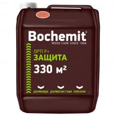 Бохемит OPTI F + - импрегнатор за дърво, кафяв - 5 kг - концентрат