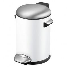 Кофа с педал Estelle - 3 л, бяла