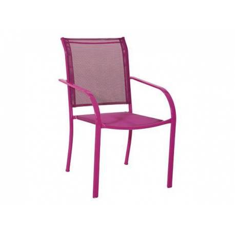 Градински стол - фуксия