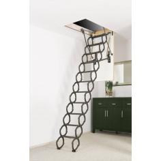 Метална таванска стълба OptiStep OST - 60 х 90 см - топлоизолирана