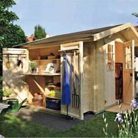 Дървена градинска къща - Oslo 2.10 x 2.10 м