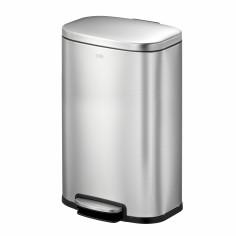 """Кош за разделно събиране на отпадъци с педал """"OLI - CUBE"""" - 2 х 20 литра - мат - EKO"""