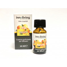 Ароматно масло за арома дифузер - цитрус - 10 мл. - INNOLIVING