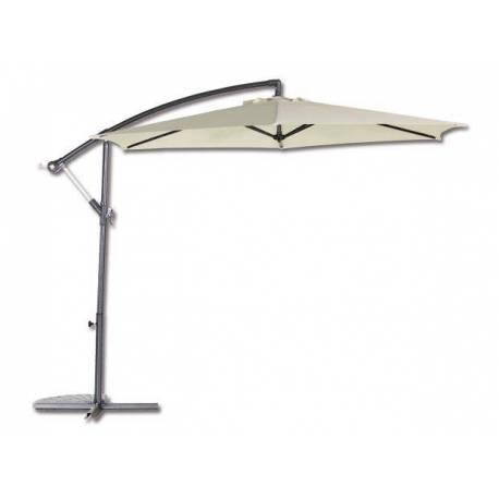 Градински чадър - тип камбана - екрю