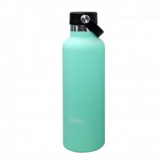 """Двустенна спортна бутилка с дръжка - цвят """"ТЮРКОАЗ"""" - 750 мл. - Vin Bouquet"""