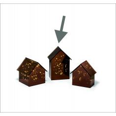 Декоративна светеща къща LIGHT HOUSE  - размер M - PHILIPPI