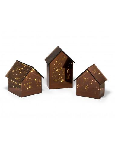 Декоративна светеща къща LIGHT HOUSE  - размер L - PHILIPPI