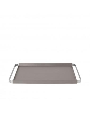 Табла / поднос за сервиране PEGOS - цвят сиво-кафяв - BLOMUS