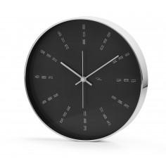 """Стенен часовник """"TEMPUS RADAR"""" - черен - PHILIPPI"""