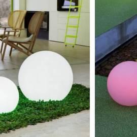 Светеща топка, диаметър 60 см