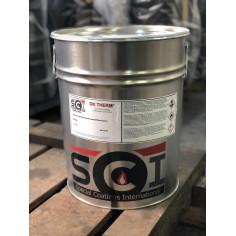 Термоустойчивa боя – Черен металик 25 кг.