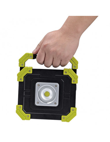 LED прожектор Depot Mobiler - 10 W, ДxШxВ 15,5x4,1x17,5 см, IP44
