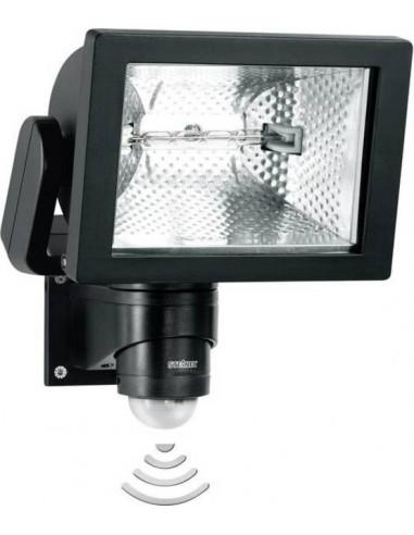 Халогенен прожектор със сензор Steinel HS 500 Duo - 500 W, 240°, 20 м, IP44, черен