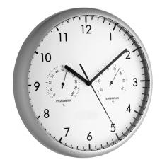 Стенен часовник с термометър и хигрометър - От -20 до 50°C