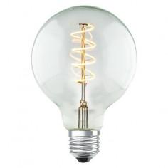 LED крушка Transparent - 4 W, Е27 G95, 2200 К, 160 lm, Ø9,5 см