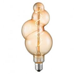 LED крушка Bubble - 4 W, Е27, 2200 К, 130 lm, ШхВ 11х24 см, кехлибар
