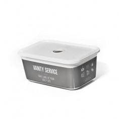 Пластмасова кутия за съхранение XS Home Service - 19х12,7х8 см, 1,5 л, с капак