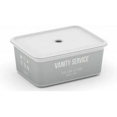 Пластмасова кутия за съхранение S Home Service 24Х17,5Х10 СМ 3Л - 24х17,5х10 см, 3 л, с капак