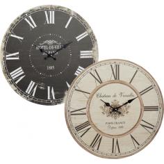 Часовник Носталгия - Ø45 см, дървен