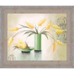 Imagén: Рамкирана картина ProArt Ваза с цветя - 30х24 см