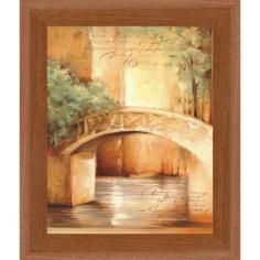 Imagén: Рамкирана картина ProArt Мост над реката - 30х24 см