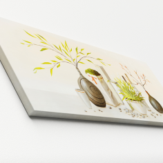 Imagén: Картина ProArt Вази - 80х30 см, дигитален печат върху канава
