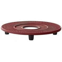 """Подложка за чугунен чайник """"Xilin"""" - цвят червен - BREDEMEIJER"""