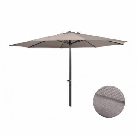 Градински чадър - 3 м, кафяв