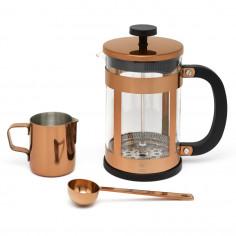 Комплект за кафе от 3 части - 800 мл - цвят меден - LEOPOLD VIENNA