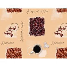 Мушама за маса D-C-Fix Noblessa Espresso - Ø140 см, кръгла
