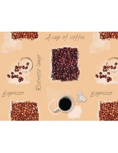 Мушама за маса D-C-Fix Noblessa Espresso - 130х160 см