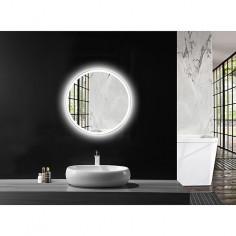 Огледало с LED осветление Silver Space - Ø60 см