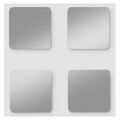Комплект огледални плочки Riva Flag 5 - ШхВ 20х20 см, 4 броя