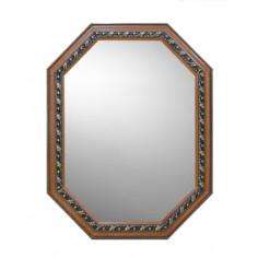 Огледало otoram-90 - ШхВ 17х37 см, с дървена рамка