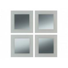 Комплект огледални плочки Form Olm - ШхВ 30х30 см, 4 броя
